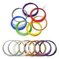 Цветной PLA-пластик для 3Д-ручек (15 цветов по 10м)