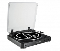 Проигрыватель Audio-Technica AT-LP60BT BK Black