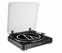 Проигрыватель Audio-Technica AT-LP60BT BK Black