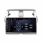 Штатная магнитола CARMEDIA KD-1040-P3-7 DVD Toyota Land Cruiser Prado 150 2013-2016 (поддержка кругового обзора)