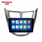 Штатная магнитола CARMEDIA NM-9051 DVD Hyundai Solaris 2011-2016 дорестайл и рестайл