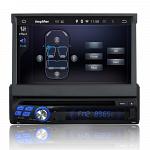 Штатная магнитола CARMEDIA KDO-8600 DVD универсальная установка I din