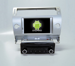 Штатная магнитола CARMEDIA QR-7066-s DVD Citroen C4 2004-2011, C5 серебро