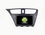Штатная магнитола CARMEDIA QR-8067 DVD Honda Civic 9 Hatchback 2011-2016, Civic 9 Tourer 2013-2016