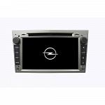 Штатная магнитола CARMEDIA KD-7408-g DVD Opel Astra H, Vectra С, Corsa D, Antara, Vivaro, Meriva, Zafira (темно-серый)