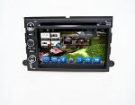 Штатная магнитола для Ford Explorer, Expedition, Mustang: F150, F250, F350, F450 CARMEDIA KR-7057-T8 на Android 7.1