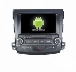 Штатная магнитола CARMEDIA KR-8007-T8 для Mitsubishi Outlander/XL 2006-2012, Peugeot 4007 2007-2012, Citroen C-Crosser 2007-2012 Android 7.1