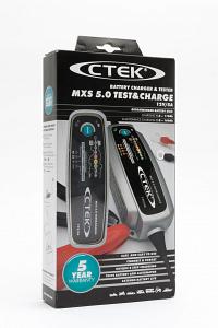 Ctek MXS 5.0 TEST&CHARGE с тестером для АКБ