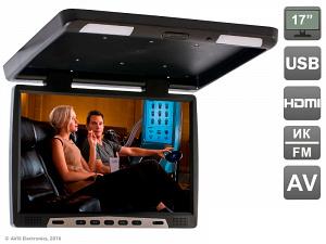 Автомобильный потолочный монитор 17,3 Avis AVS117 (черный)