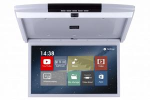 Автомобильный потолочный монитор Full HD 15.6 ERGO ER15AND на ANDROID (серый)
