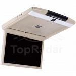 Автомобильный потолочный монитор 15,6 DayStar PD1507FL бежевый (1920X1080, ANDROID)