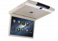 Автомобильный потолочный монитор Full HD 17,3 ERGO ER17AND на ANDROID (бежевый)