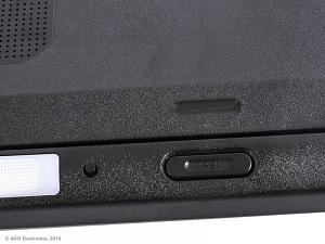 Потолочный автомобильный монитор 15,6 со встроенным медиаплеером AVIS Electronics AVS115 (черный)