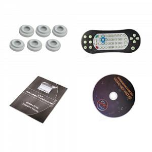 Автомобильный потолочный монитор 13.3 со встроенным Full HD медиаплеером ERGO ER13S-DVD (черный)