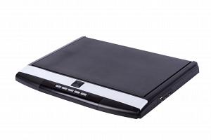 Автомобильный потолочный монитор 17.3 со встроенным Full HD медиаплеером ERGO ER17S (черный)