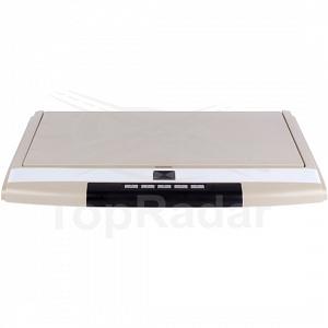 Автомобильный потолочный монитор 17.3 со встроенным Full HD медиаплеером ERGO ER17S (бежевый)