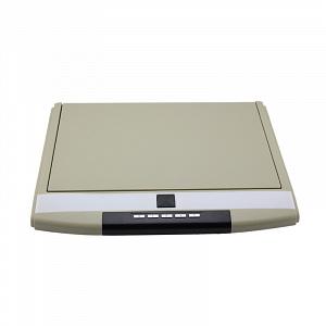 Автомобильный потолочный монитор 15.6 со встроенным Full HD медиаплеером ERGO ER15S (бежевый)