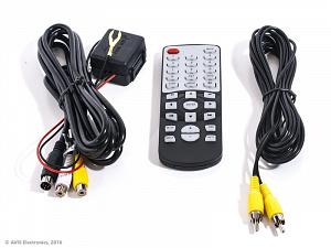 Потолочный автомобильный монитор 15,6 со встроенным медиаплеером AVIS Electronics AVS115 (серый)