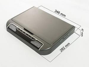 Автомобильный потолочный монитор 13,3 со встроенным DVD плеером AVIS Electronics AVS440T (серый)