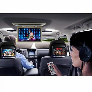 Автомобильный потолочный монитор 17,3 со встроенным Full HD медиаплеером ERGO ER174FH (HDMI/AC3)