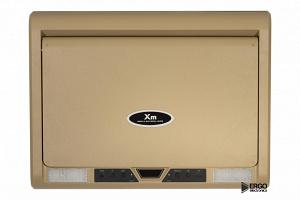 Моторизированный потолочный монитор XM-1590RDUD (15.6 FullHD), бежевый