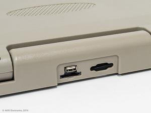Потолочный автомобильный монитор 20,1 с HDMI и встроенным медиаплеером AVIS Electronics AVS2020MPP (бежевый)