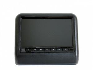 Навесной монитор на подголовник с диагональю 9 и встроенным DVD плеером TRINITY X-9F (Черный)