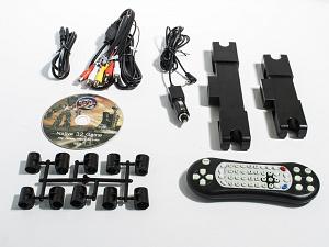 Навесной монитор на подголовник с сенсорным экраном 10.1, встроенным DVD плеером и медиаплеером AVIS Electronics AVS1038T