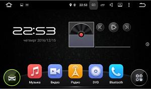 Навесной монитор на подголовник с сенсорным экраном 10.1 на ОС Android FarCar Z001