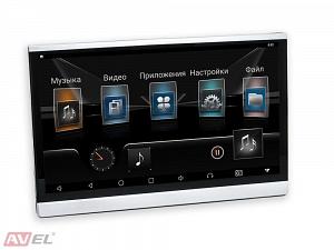 Навесной монитор на подголовник с сенсорным экраном 12.5 на Android AVS1215AN
