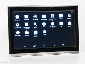 Навесной монитор на подголовник с сенсорным экраном 10.1 на ОС Android AVIS Electronics AVS1089AN