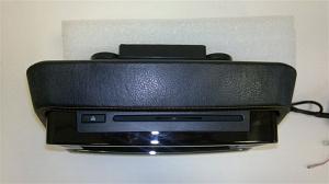Навесной монитор на подголовник с диагональю 9 и встроенным DVD плеером TRINITY X-9G (Черный)