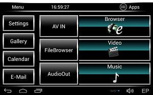 Комплект навесных мониторов на подголовник с диагональю 10.1 AVIS Electronics AVS1033AN (#02) на Android для автомобилей Land Rover/ Range Rover