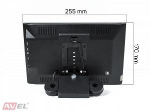 Навесной монитор на подголовник с сенсорным экраном 10.1 на Android AVIS Electronics AVS1055AN