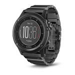Garmin Fenix 3 HR Sapphire Slate Gray with Stainless Steel band