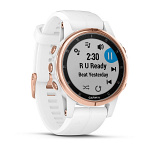GPS-часы Garmin fenix 5S Plus SapphWht Rose Gold w/Wht BndGPSEMEA