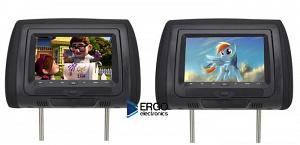 Комплект автомобильных DVD подголовников ERGO ER704HD