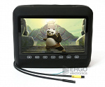 """Подголовник со встроенным DVD плеером и LCD монитором 9 ERGO ER9HD (Черный)"""""""