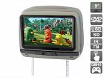 """Подголовник с сенсорным монитором 9 и встроенным DVD плеером AVIS Electronics AVS0945T (серый)"""""""