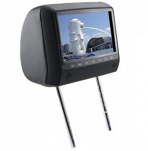 """Подголовник с монитором 9 и встроенным DVD плеером FarCar-Z007 (Grey)"""""""