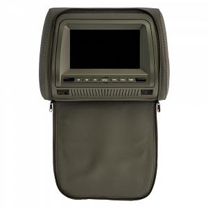 Комплект автомобильных подголовников ERGO ER700H (серый)