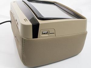 """Подголовник с сенсорным монитором 9 и встроенным DVD плеером AVIS Electronics AVS0945T (бежевый)"""""""