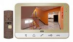 Комплект видеодомофона CTV-DP701 Шампань