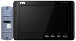 Комплект видеодомофона CTV-DP1700M Черный