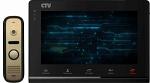 Комплект цветного IP видеодомофона CTV-DP2700IP Черный