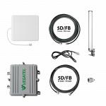 Комплект усиления сотовой связи в автомобиле VEGATEL AV2-900E/1800/3G-kit