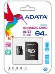 ADATA micro SDXC 64 Гб Class 10